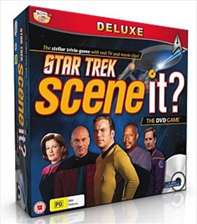scene it board game deluxe star trek edition � new � team