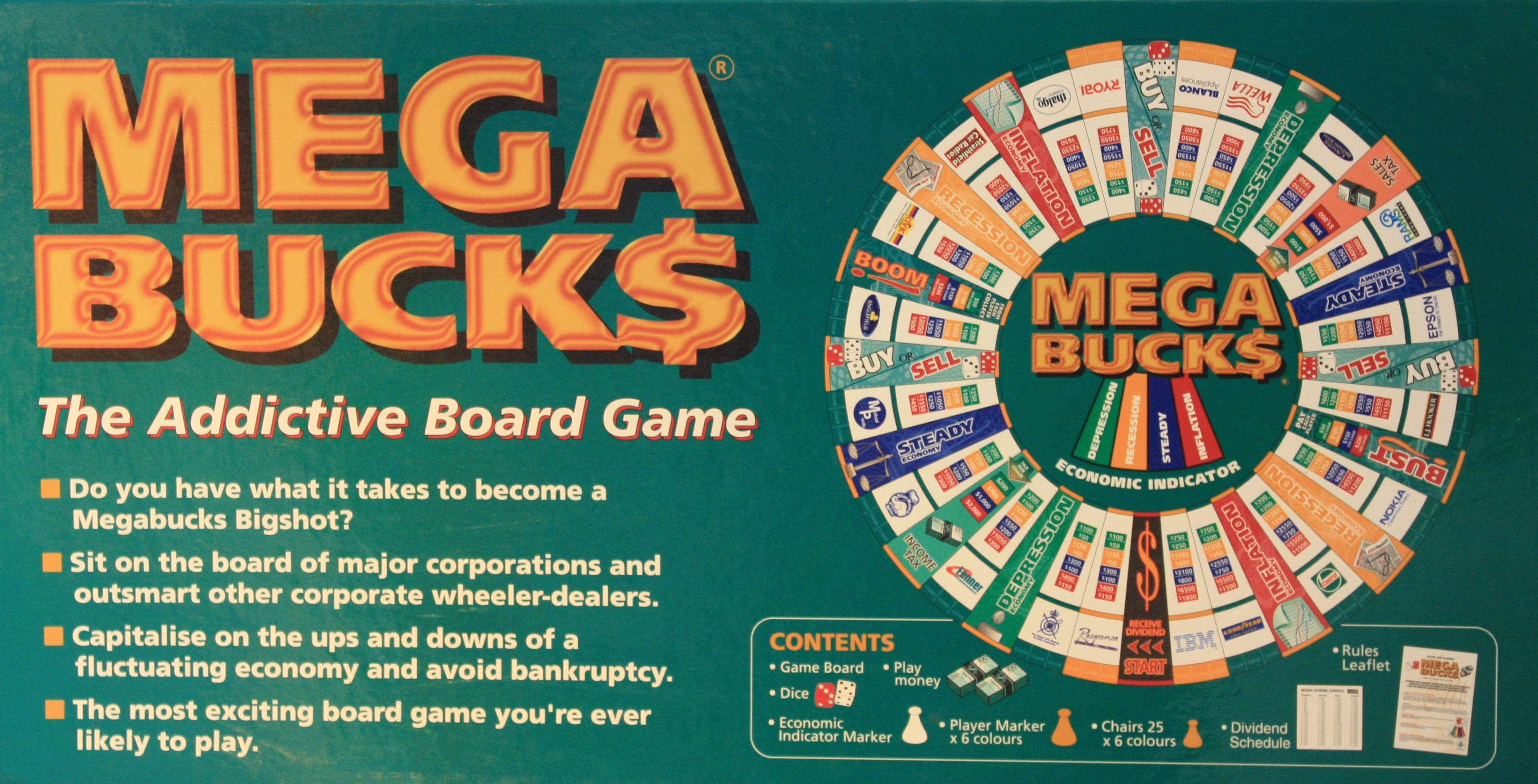 Megabucks Board Game