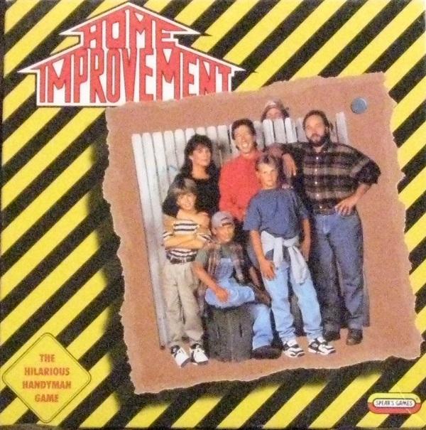 Home Improvement Board Game Used