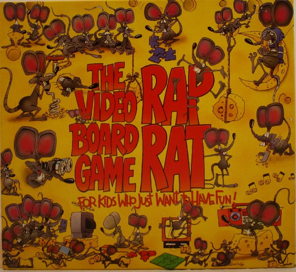 Rap Rat The Video Board Game Used Team Toyboxes