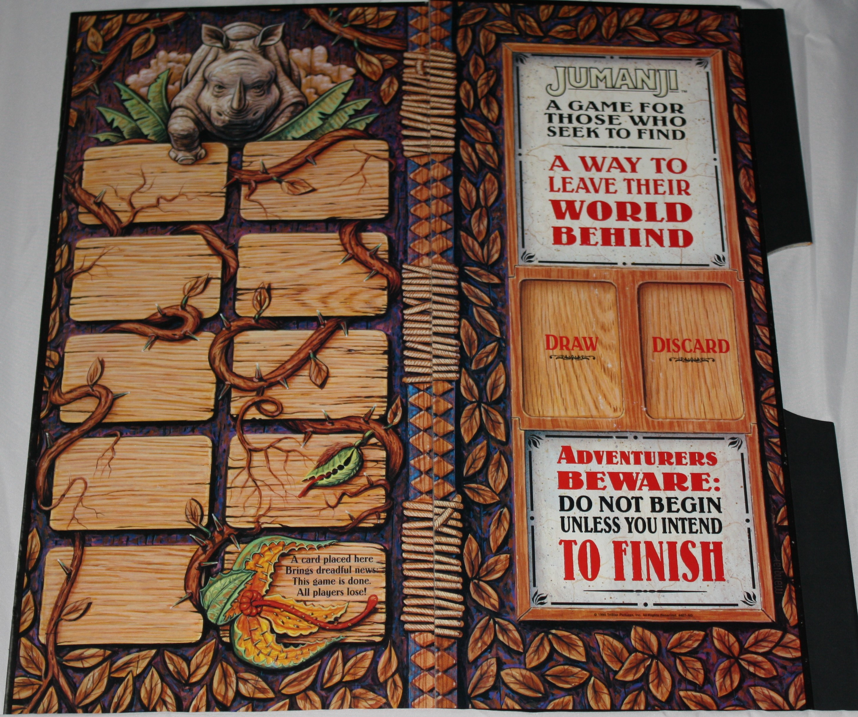 Jumanji Board Game Game Board