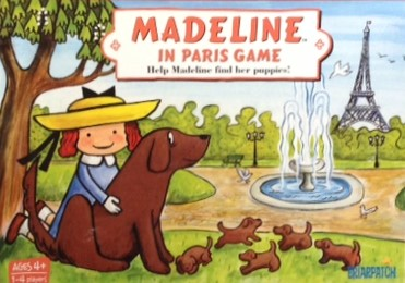 Madeline In Paris Board Game Team Toyboxes
